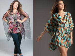 Uma modelagem que pode ser usada para fazer uma blusa ou um vestido. Esquema de modelagem do PP ao EGG.