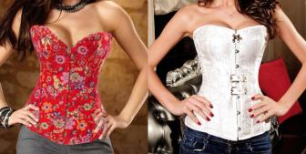 Um corselet simples que pode ser feito com tecido plano com strech. Segue esquema de modelagem do 36 ao 56.