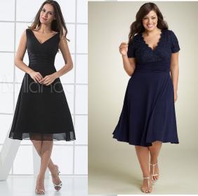 Um vestido clássico que veste bem magrinhas e cheinhas. Segue esquema de modelagem do 36 ao 56.