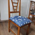 Vídeo: Trocando o tecido do assento de uma cadeira