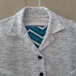Vídeo: costura e acabamento blusa pijama gola esporte